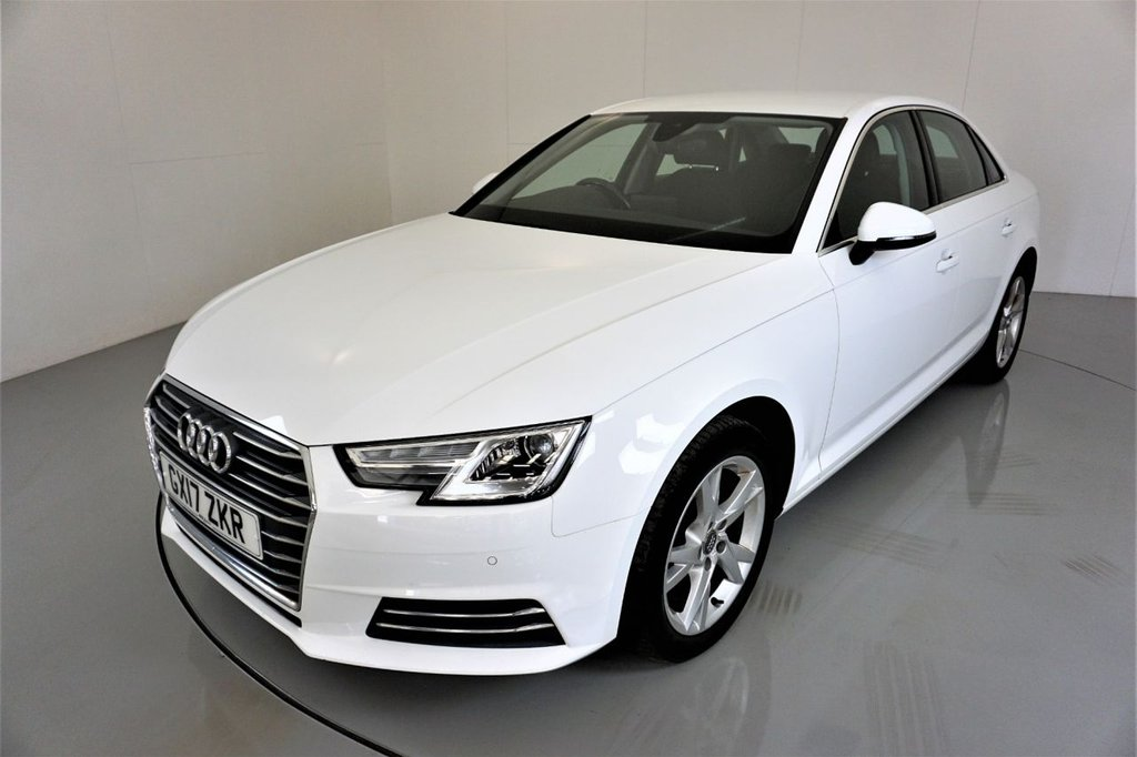 USED 2017 17 AUDI A4 1.4 TFSI SPORT 4d-2 OWNER CAR-BLUETOOTH-PARKING SENSORS-CLIMATE CONTROL