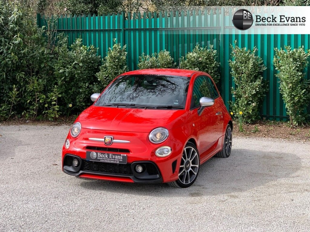 USED 2017 17 ABARTH 500 1.4 595 TURISMO 3d 162 BHP FULL LEATHER  FULL LEATHER