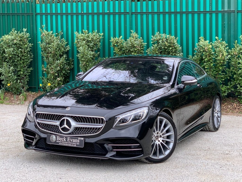 USED 2018 18 MERCEDES-BENZ S-CLASS 4.0 S 560 AMG LINE PREMIUM 2d 463 BHP