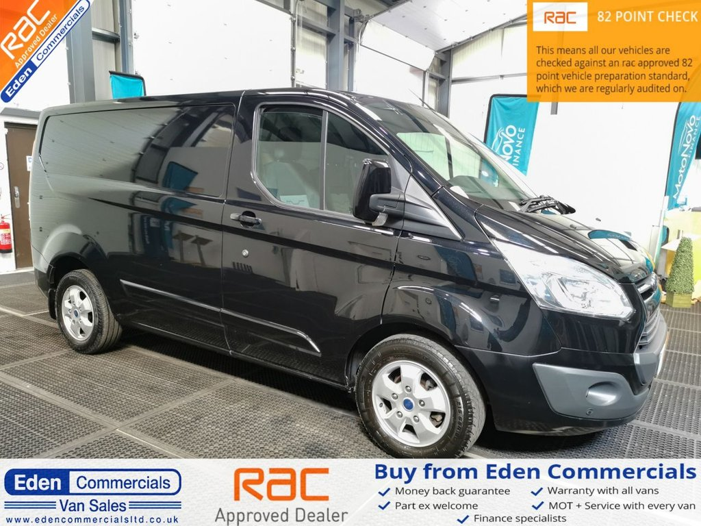 USED 2017 17 FORD TRANSIT CUSTOM 2.0 270 LIMITED * AIR CON + HEATED SEATS *