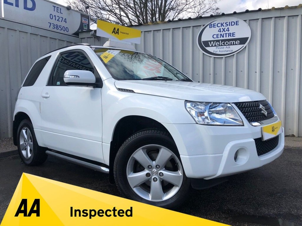 USED 2012 12 SUZUKI GRAND VITARA 1.6 SZ4 3 DOOR AA INSPECTED. FINANCE. WARRANTY