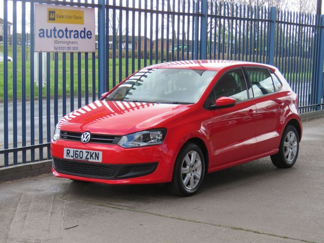 USED 2011 60 VOLKSWAGEN POLO 1.4 SE 5d 85 BHP Air Conditioning,Alloy Wheels,Rear Parking Sensors, Heated Seats