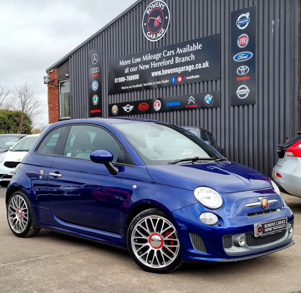 USED 2016 16 ABARTH 500 1.4 595 TURISMO 3D 158 BHP 2 Owners - Low Miles - 3 Services - Big Spec