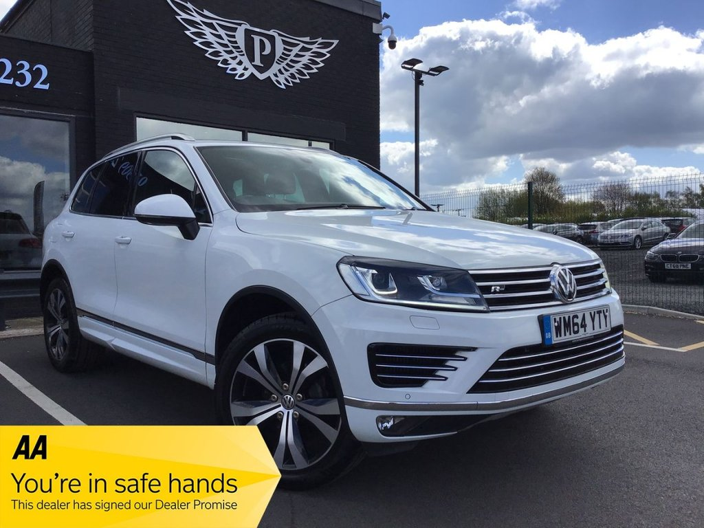 USED 2015 64 VOLKSWAGEN TOUAREG 3.0 V6 R-LINE TDI BLUEMOTION TECHNOLOGY 5d 259 BHP