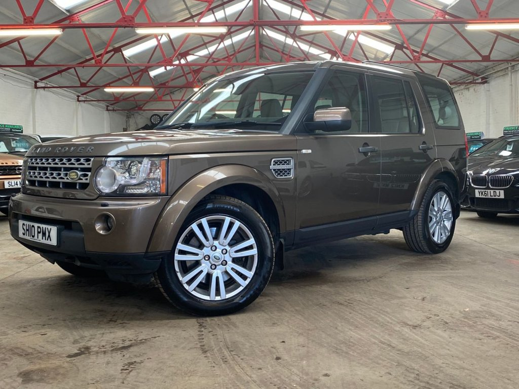 USED 2010 10 LAND ROVER DISCOVERY 3.0 4 TDV6 HSE 5d 245 BHP