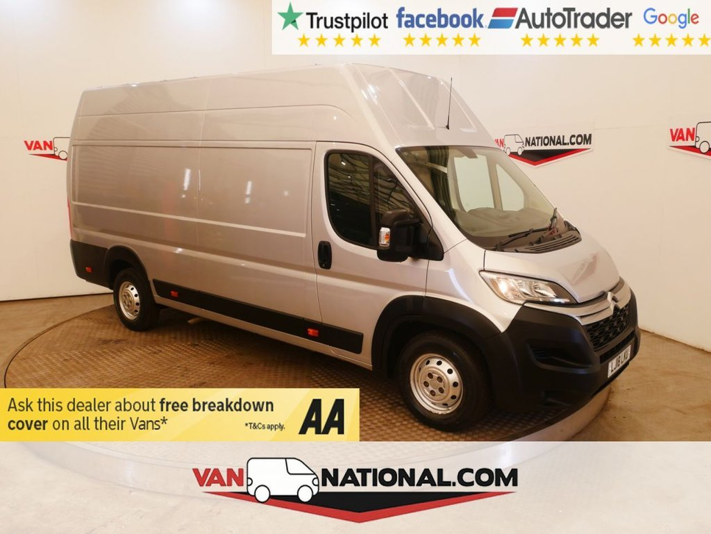 USED 2018 18 CITROEN RELAY 2.0 35 HEAVY L4 H3 ENTERPRISE BLUEHDI 130 BHP XLWB WWW.VANNATIONAL.COM