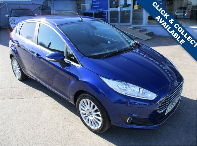 USED 2014 64 FORD FIESTA 1.6 TITANIUM 5d AUTO 104 BHP STUNNING CONDITION AND DRIVE