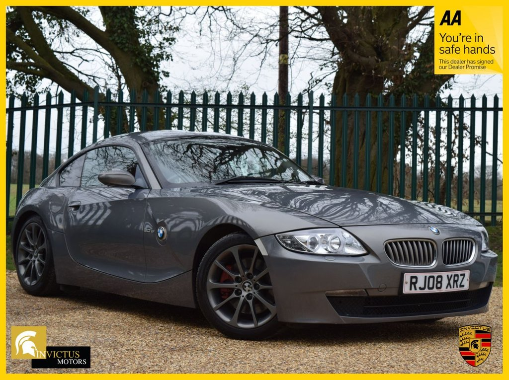 USED 2008 08 BMW Z4 3.0 Z4 SI COUPE 2d 265 BHP