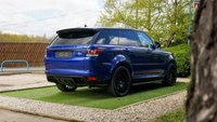 USED 2015 15 LAND ROVER RANGE ROVER SPORT 5.0 SVR 5d 550 BHP PREVIOUSLY RETAILED BY A LAND ROVER MAIN DEALER WITH A FLRSH AND A LAND ROVER EXTENDED WARRANTY, HEADS UP DISPLAY, 22 INCH REVERE ALLOYS