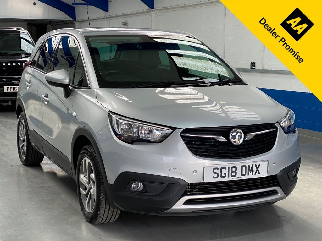 USED 2018 18 VAUXHALL CROSSLAND X 1.6 TECH LINE NAV S/S 5d 119 BHP FULL SERVICE HISTORY-CAR PLAY