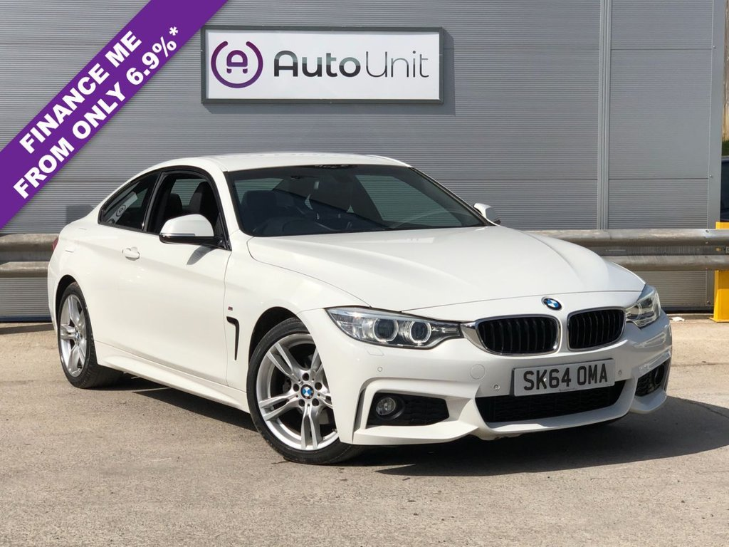 USED 2014 64 BMW 4 SERIES 2.0 420D M SPORT 2d 181 BHP SAT NAV | CRUISE | AUTOMATIC XENON HEADLIGHTS | HEATED LEATHER
