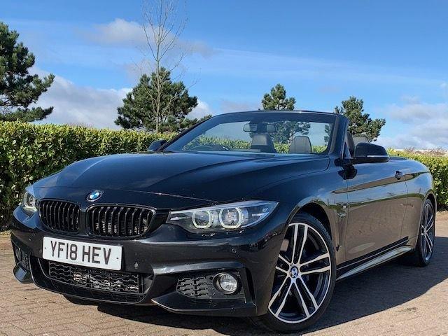 USED 2018 18 BMW 4 SERIES 2.0 420D M SPORT 2d 188 BHP