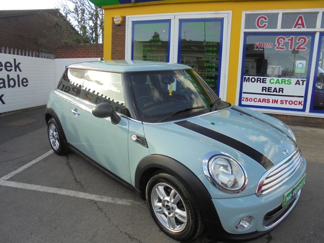 USED 2013 13 MINI HATCH ONE 1.6 ONE 3d 98 BHP **BOOK YOUR TEST DRIVE NOW *