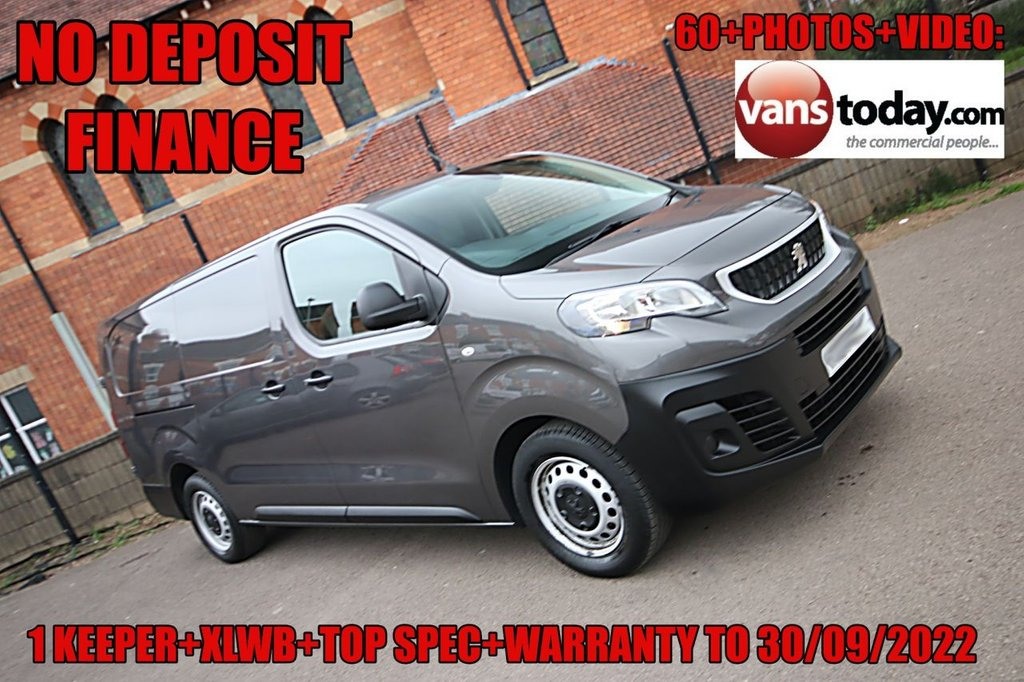 USED 2019 69 PEUGEOT EXPERT 2.0 BLUEHDI PROFESSIONAL L2 CRC 120 BHP NO DEPOSIT FINANCE + 1 KEEPER + EURO 6 + 1400 PAYLOAD