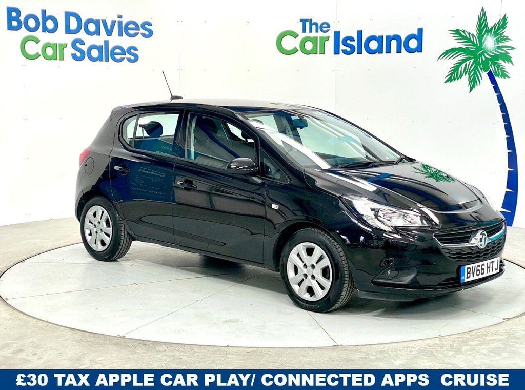 USED 2016 66 VAUXHALL CORSA 1.4 DESIGN ECOFLEX S/S 5d 89 BHP Superb Low mileage Automatic with Bluetooth DAB & More