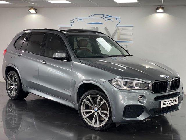2014 64 BMW X5 3.0 XDRIVE30D M SPORT 5d 255 BHP