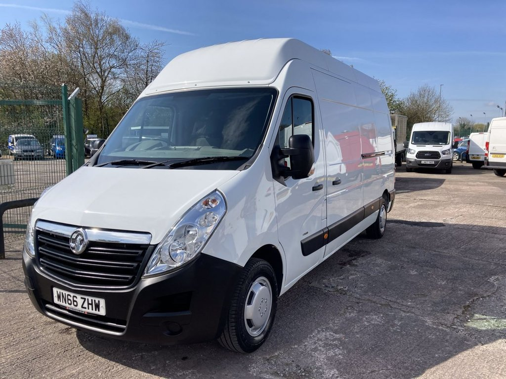USED 2016 66 VAUXHALL MOVANO 2.3 F3500 L3H3 CDTI 134 BHP 1 OWNER FSH NEW MOT REAR RAMP AIR CON SAT NAV FREE WARRANTY INCLUDING RECOVERY AND ASSIST NEW MOT AIR CONDITIONING SATELLITE NAVIGATION REAR RAMP