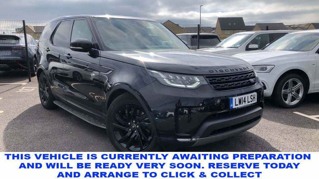 USED 2017 17 LAND ROVER DISCOVERY 5 3.0 TD6 HSE LUXURY 5d 7 Seat Family SUV AUTO Unbelievable Massive High Spec and Stunning in Black with Black Alloys and Black Side Steps with Heated Black Leather Seats Sunroofs and much more