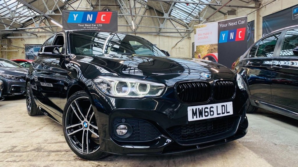 USED 2016 66 BMW 1 SERIES 1.5 116d M Sport Auto (s/s) 5dr PERFORMANCEKIT+FACELIFT+18S
