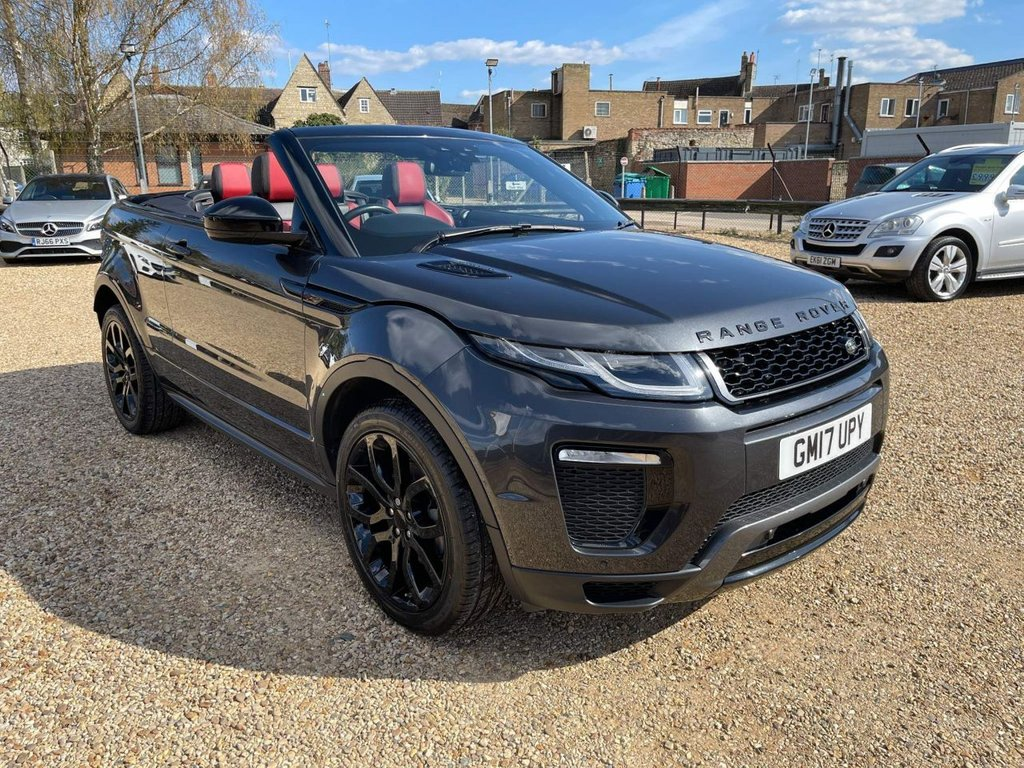 USED 2017 17 LAND ROVER RANGE ROVER EVOQUE 2.0 TD4 HSE Dynamic Auto 4WD (s/s) 2dr Sat Nav & 2 Tone Leather