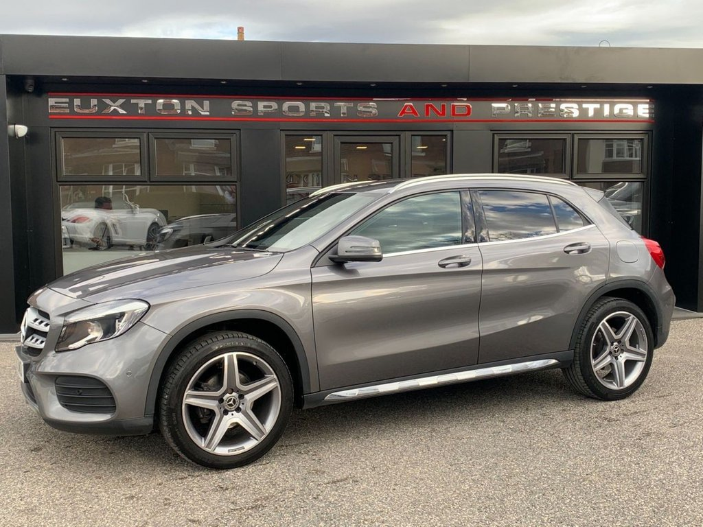 USED 2018 18 MERCEDES-BENZ GLA-CLASS 2.1 GLA200d AMG Line (Executive) 7G-DCT 4MATIC (s/s) 5dr FULL MERCEDES SERVICE HISTORY