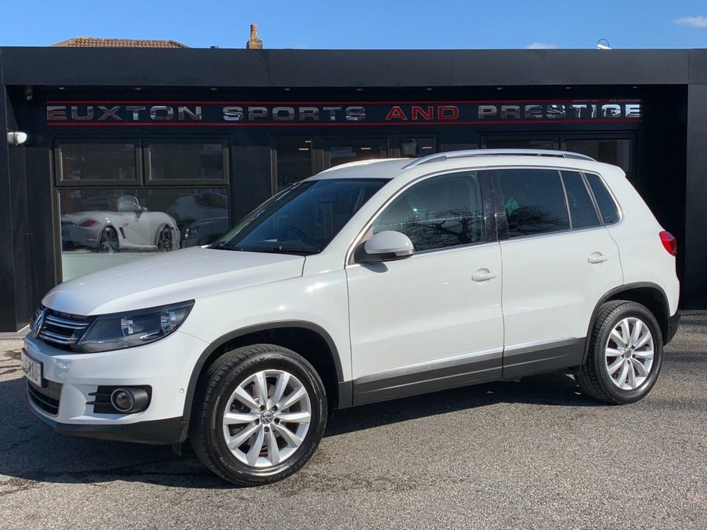 USED 2015 15 VOLKSWAGEN TIGUAN 2.0 TDI BlueMotion Tech Match DSG 4MOTION (s/s) 5dr FULL SERVICE HISTORY