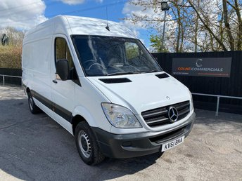 2011 MERCEDES-BENZ SPRINTER 2.1 CDI 313 High Roof Panel Van 4dr MWB