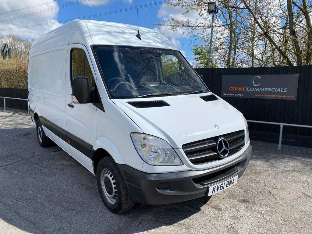 USED 2011 61 MERCEDES-BENZ SPRINTER 2.1 CDI 313 High Roof Panel Van 4dr MWB **SOLID WORK HORSE**