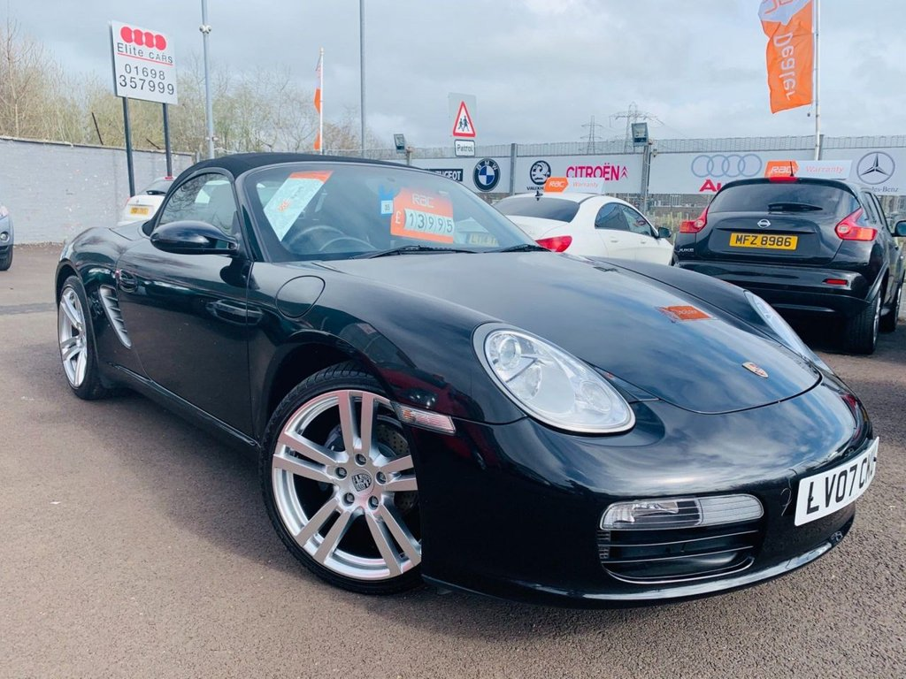 USED 2007 07 PORSCHE BOXSTER 2.7 987 2dr Lovely 987
