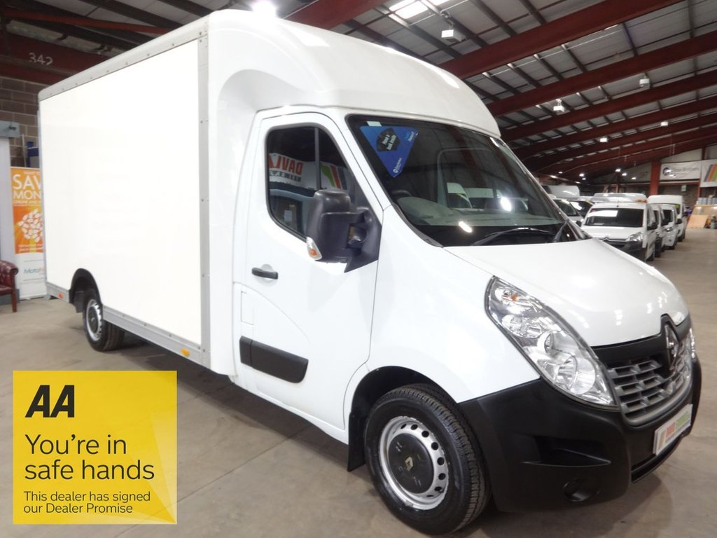 USED 2017 67 RENAULT MASTER 2.3 LL35 BUSINESS DCI LUTON 130 BHP LOW LOADER LUTON VAN '' YOU'RE IN SAFE HANDS ''  WITH THE AA DEALER PROMISE