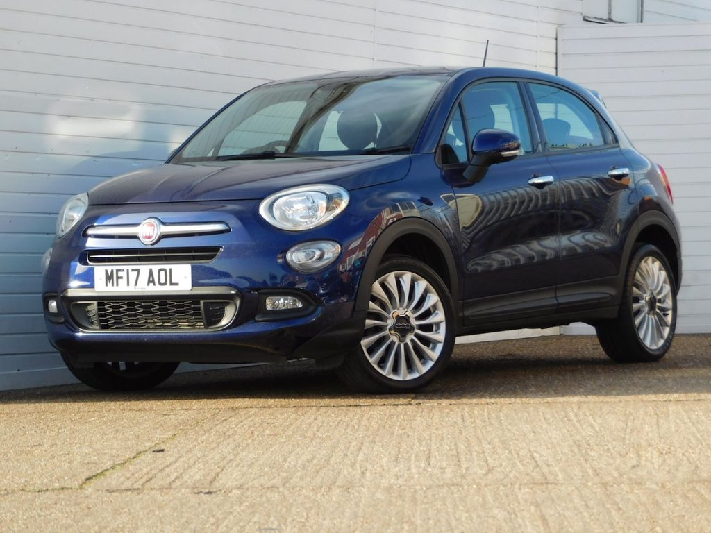 USED 2017 17 FIAT 500X 1.4 MULTIAIR POP STAR 5d 140 BHP Buy Online Moneyback Guarantee