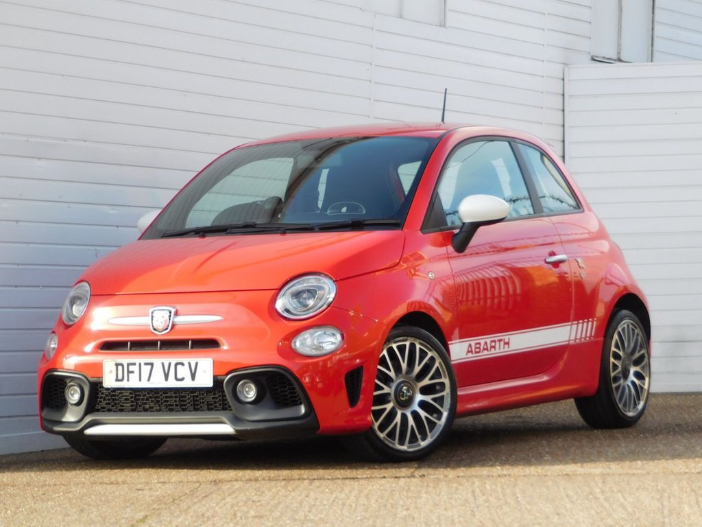USED 2017 17 ABARTH 500 1.4 595 3d 144 BHP Buy Online Moneyback Guarantee