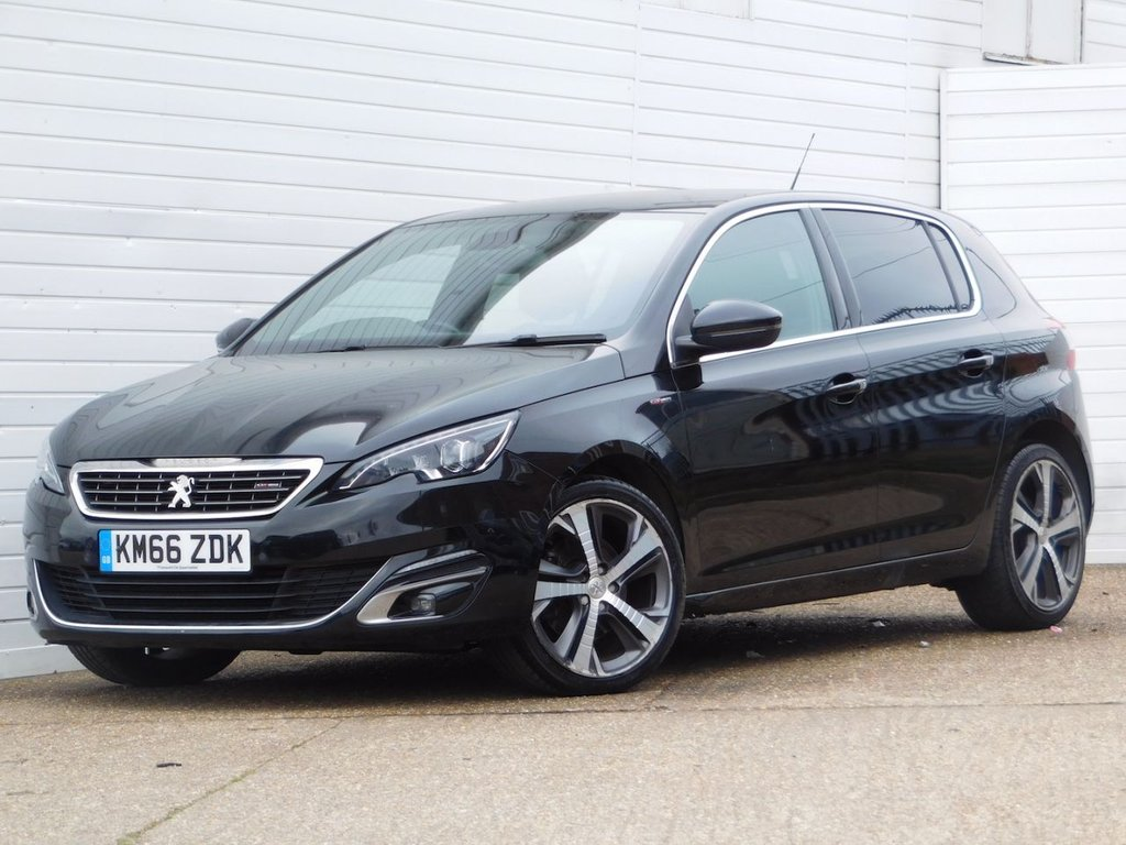 USED 2016 66 PEUGEOT 308 2.0 BLUE HDI S/S GT LINE 5d 150 BHP Buy Online Moneyback Guarantee