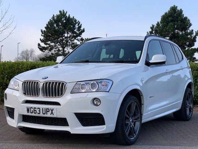 USED 2013 63 BMW X3 3.0 XDRIVE30D M SPORT 5d 255 BHP