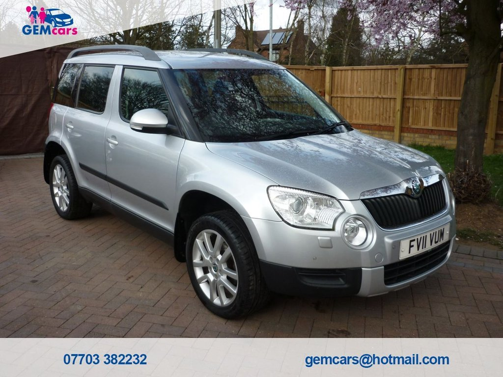 USED 2011 11 SKODA YETI 1.2 ELEGANCE TSI DSG 5d 103 BHP GO TO OUR WEBSITE TO WATCH A FULL WALKROUND VIDEO