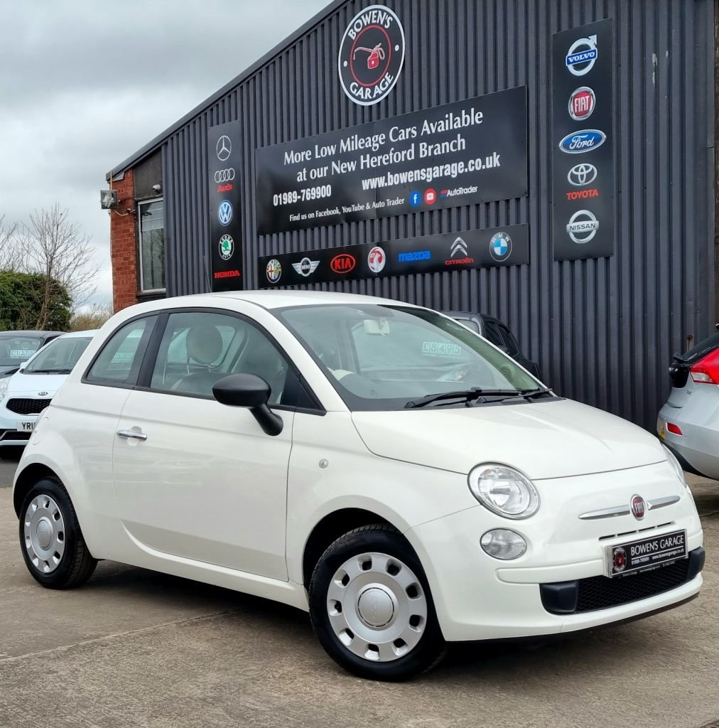 USED 2015 15 FIAT 500 1.2 POP 3D 69 BHP 4 Services - £30 Tax - 3 Owners