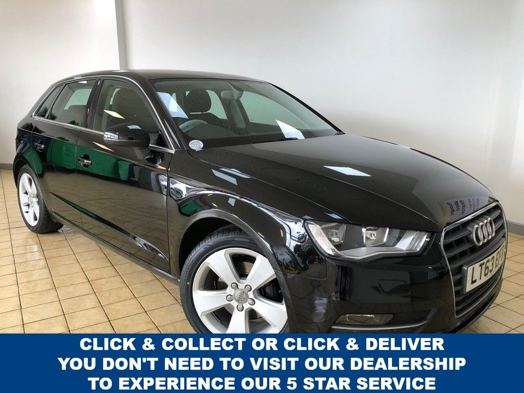 USED 2013 63 AUDI A3 1.4 TFSI SPORT 5d 5 Seat Petrol Hatchback Great Value for Money Now Recent Service & MOT 4 New Tyres Ready to Finance & Drive Away Today. 1 Former Keeper