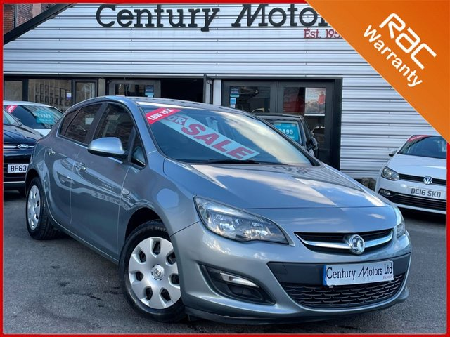 2012 62 VAUXHALL ASTRA 1.4 16v Exclusiv 5dr