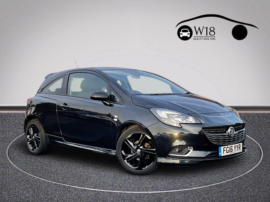 USED 2016 16 VAUXHALL CORSA 1.4 LIMITED EDITION ECOFLEX 3d 74 BHP Serviced & MOT'd