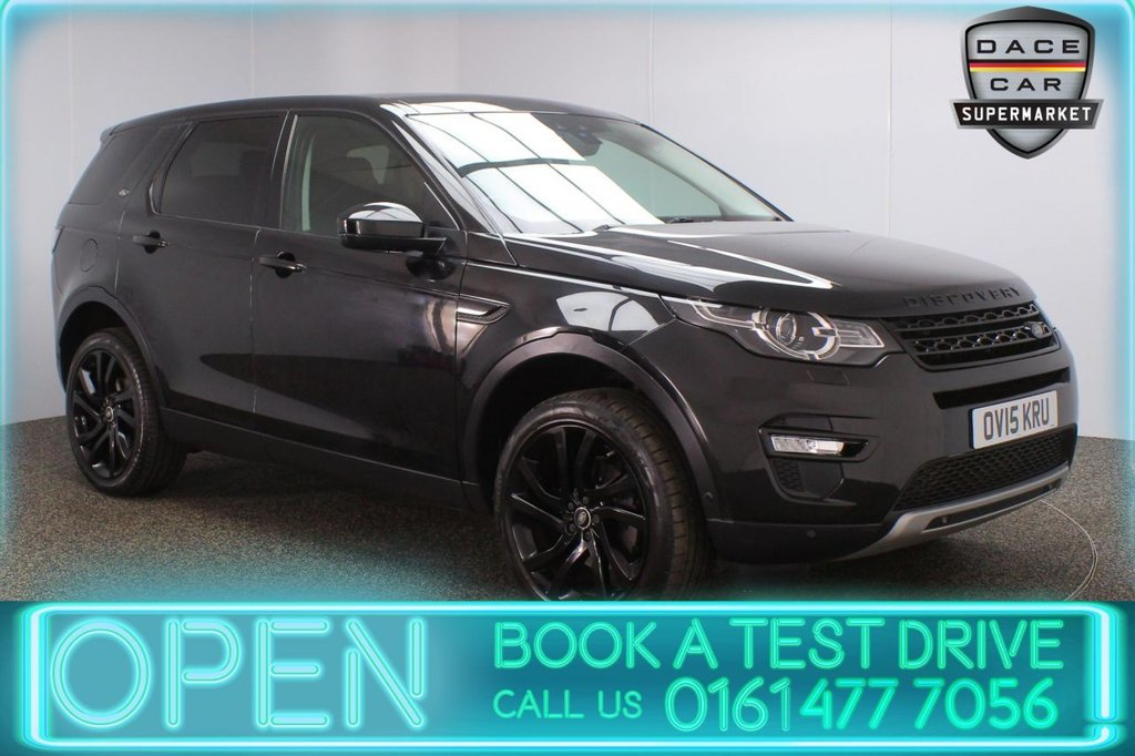 USED 2015 15 LAND ROVER DISCOVERY SPORT 2.2 SD4 HSE LUXURY 5DR AUTO 190 BHP FULL SERVICE HISTORY + 7 SEATS + HEATED/COOLED LEATHER SEATS + PANORAMIC ROOF + SATELLITE NAVIGATION + HEATED REAR SEATS + PARK ASSIST + REVERSING CAMERA + PARKING SENSORS + HEATED STEERING WHEEL + BLUETOOTH + CRUISE CONTROL + CLIMATE CONTROL + MULTI FUNCTION WHEEL + DAB RADIO + ELECTRIC/MEMORY FRONT SEATS + ELECTRIC WINDOWS + ELECTRIC/HEATED/FOLDING DOOR MIRRORS + ALLOY WHEELS