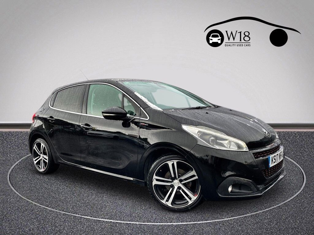 USED 2017 17 PEUGEOT 208 1.6 BLUE HDI GT LINE 5d 100 BHP Serviced & Good MOT