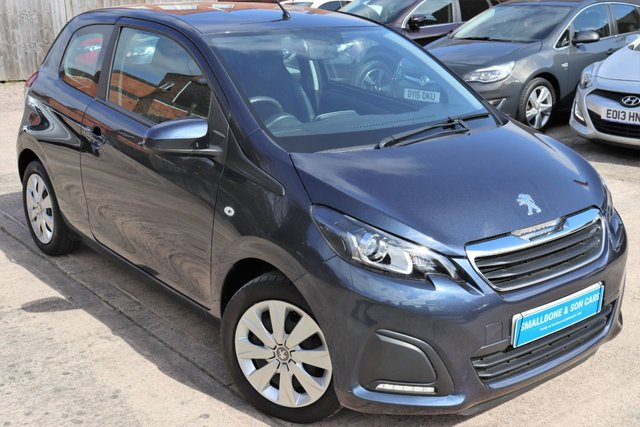 USED 2015 15 PEUGEOT 108 1.0 ACTIVE 3d 68 BHP * BUY ONLINE * FREE NATIONWIDE DELIVERY *