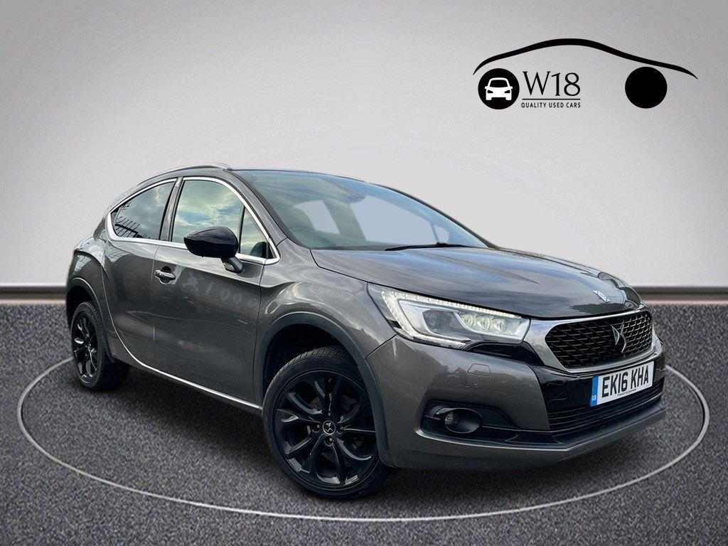 USED 2016 16 DS DS 4 CROSSBACK 1.6 BLUEHDI S/S 5d 120 BHP Sat Nav, DAB & Bluetooth