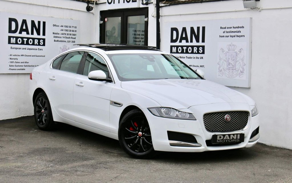 USED 2016 16 JAGUAR XF 2.0d Chequered Flag Auto (s/s) 4dr 1 OWNER*PAN ROOF*REV CAMERA