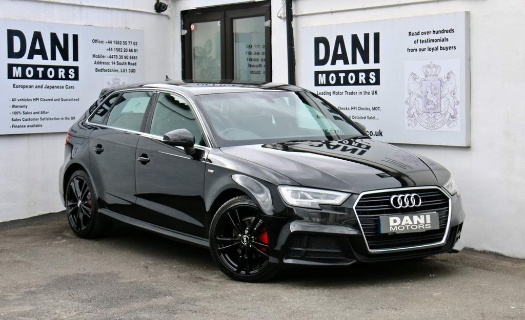 USED 2016 16 AUDI A3 2.0 TDI S line S Tronic Auto 6Spd (s/s) 4dr 1 OWNER*SATNAV*PARKING AID