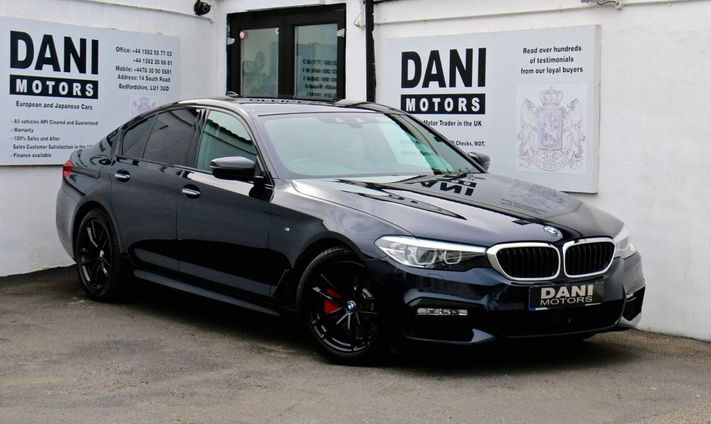 USED 2017 67 BMW 5 SERIES 2.0 520d M Sport Auto (s/s) 4dr 1 OWNER*SATNAV*PARKING AID