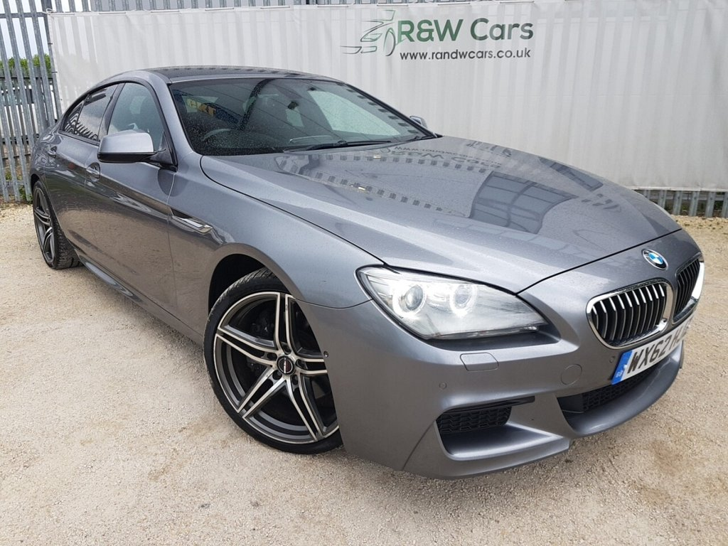 USED 2012 62 BMW 6 SERIES 3.0 640D M SPORT GRAN COUPE 4d 309 BHP
