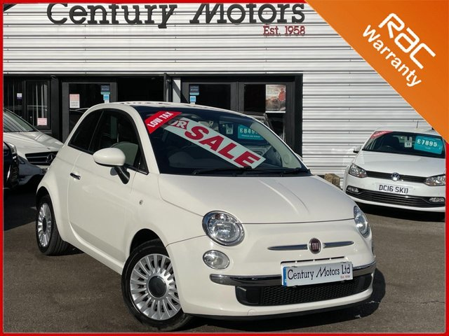 2012 62 FIAT 500 1.2 LOUNGE 3dr - PANORAMIC ROOF