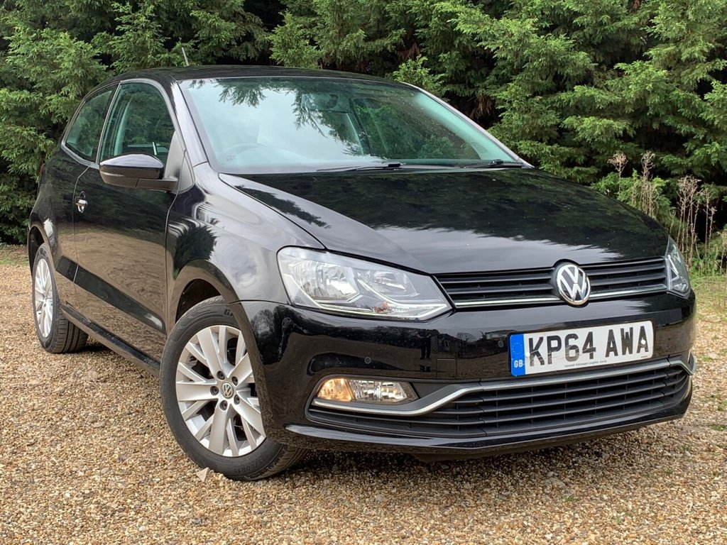 USED 2014 64 VOLKSWAGEN POLO 1.0 SE 3d 60 BHP