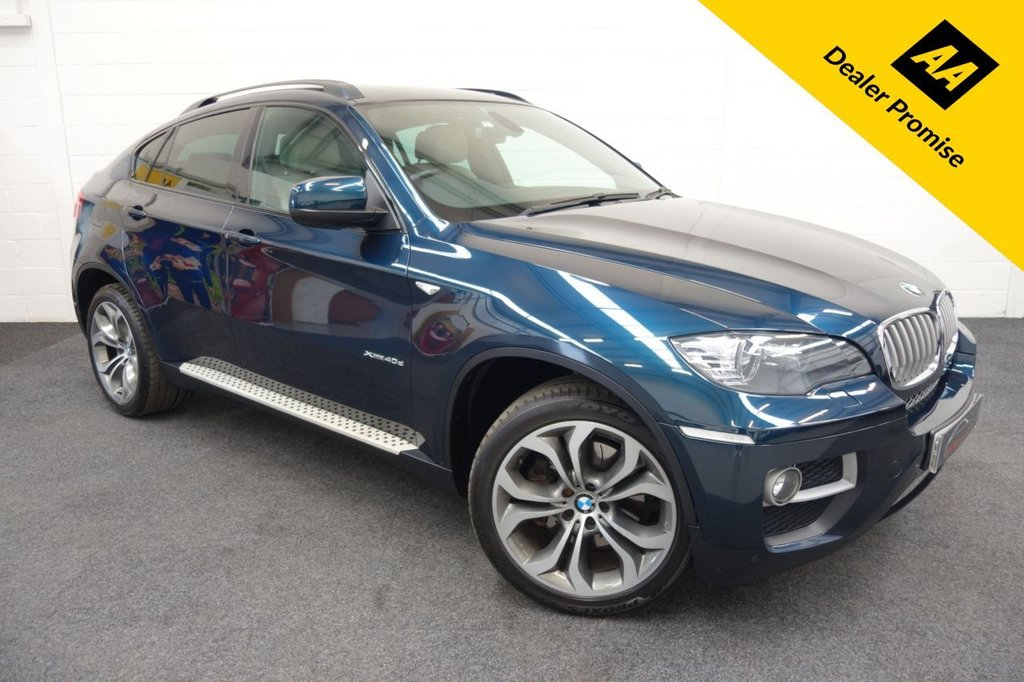 USED 2013 63 BMW X6 3.0 XDRIVE40D 4d 302 BHP